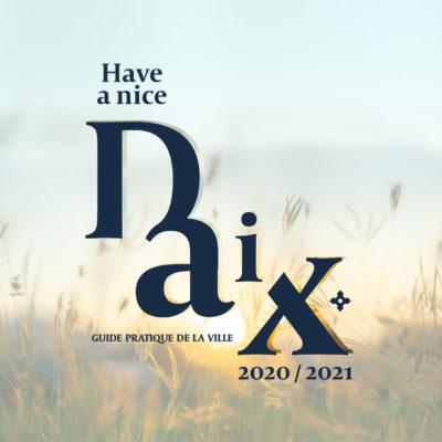 Création du guide pratique ville de Daix, Propulse agence créative