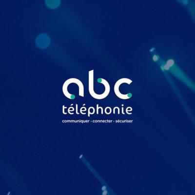 Creation logo ABC Telephonie, Propulse agence de communication à Dijon