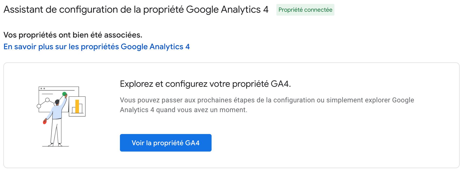 Aide au paramétrage de Google Analytics 4