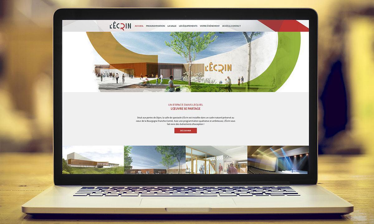 Le site internet du nouvel ecrin propulse for Le site internet
