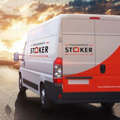 Création de l'identité de marque Stoker, Propulse agence créative