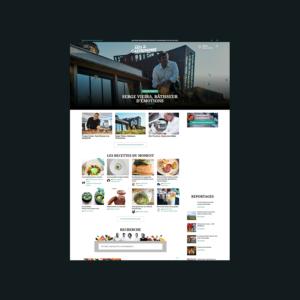 Webzine arts & gastronomie
